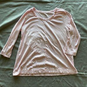 J.Jill scoop neck t-shirt